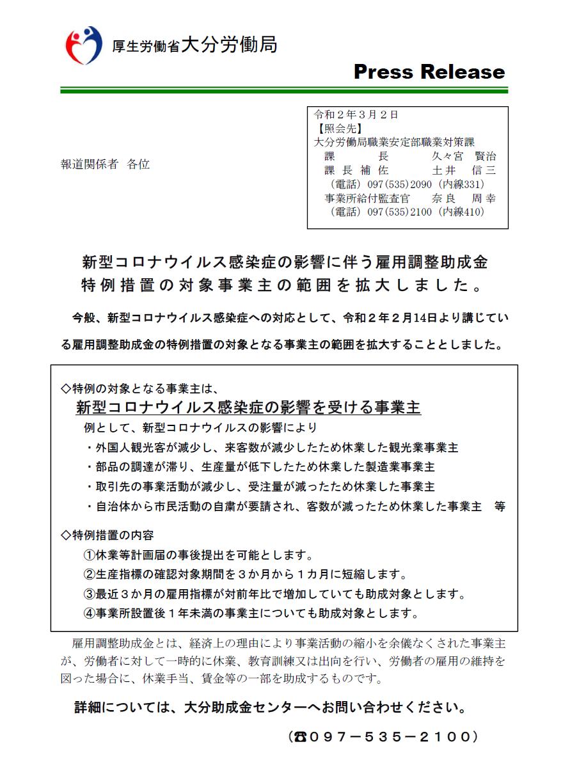 金 省 雇用 調整 助成 厚 労