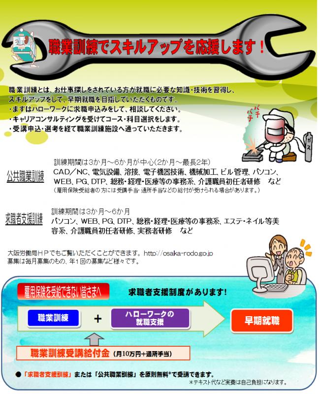 公共職業訓練コースの検索について 厚生労働省